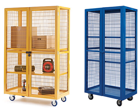 security equipment cages