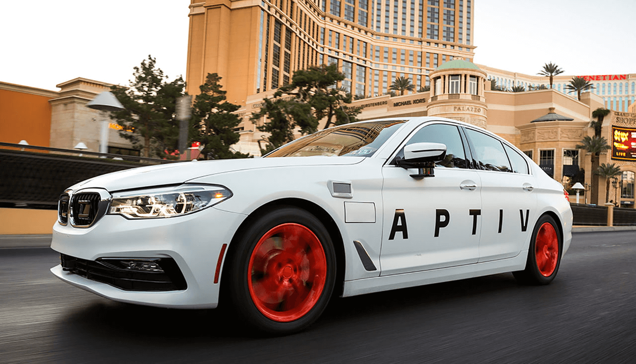 aptiv car ride
