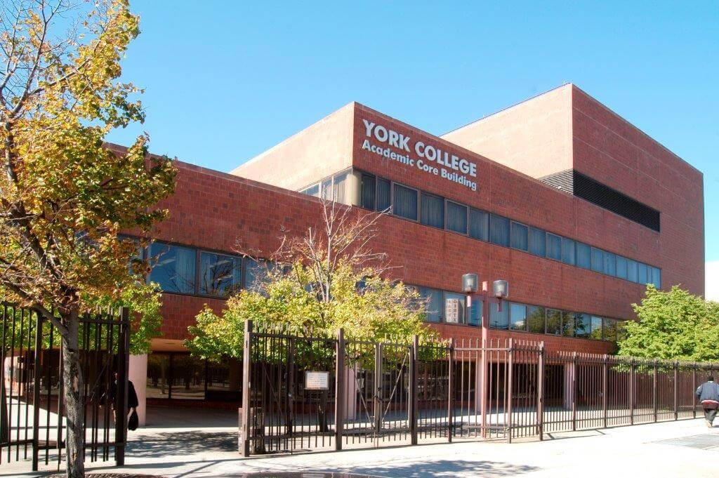 cuny york college building